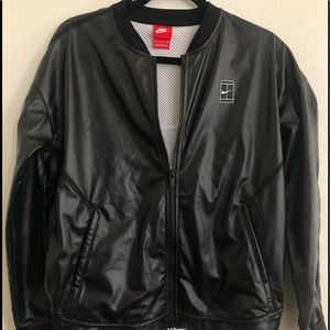 Nike Court Black Jacket SMALL
